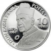 Malta 10 Euro 2013 Dun Karm Psaila PP