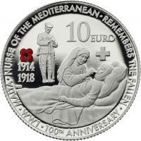 Malta 10 Euro 2014 1. Weltkrieg