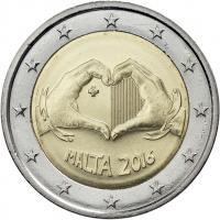 Malta 2 Euro 2016 Love