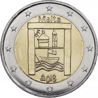 Malta 2 Euro 2018 Kulturerbe