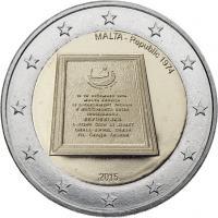 Malta 2 Euro 2015 Republik