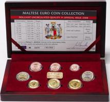 Malta Euro-KMS 2008 in Schatulle