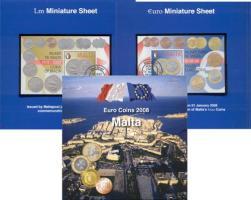 Malta Euro-KMS 2008 der Post