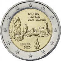 Malta 2 Euro 2020 Skorba-Tempel