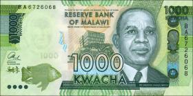 Malawi P.67 1000 Kwacha 2014 (1)