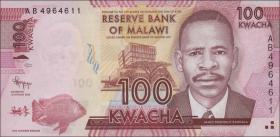 Malawi P.59a 100 Kwacha 1.1.2012 (1)