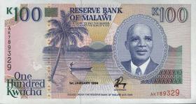 Malawi P.29b 100 Kwacha 1994 (1)