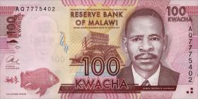 Malawi P.59c 100 Kwacha 2013 (1)