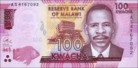 Malawi P.65a 100 Kwacha 2014 (1)