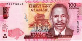 Malawi P.65c 100 Kwacha 2016 (1)