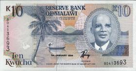 Malawi P.25c 10 Kwacha 1994 (1)