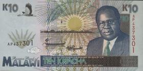 Malawi P.31 10 Kwacha 1995 (1)