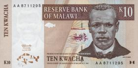 Malawi P.37 10 Kwacha 1997 (1)