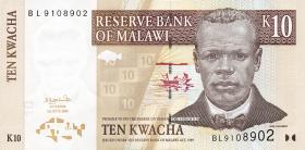 Malawi P.51a 10 Kwacha 2004 (1)
