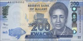 Malawi P.60a 200 Kwacha 2012 (1)