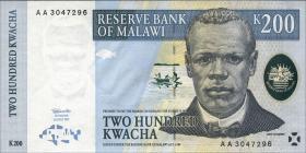 Malawi P.41 200 Kwacha 1997 (1)