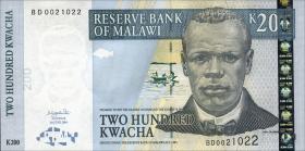 Malawi P.55a 200 Kwacha 2004 (1)