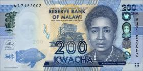 Malawi P.60b 200 Kwacha 2013 (1)