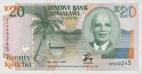 Malawi P.27 20 Kwacha 1993 (1)