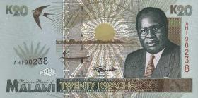 Malawi P.32 20 Kwacha 1995 (1)