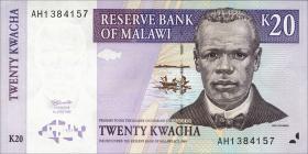 Malawi P.38 20 Kwacha 1997 (1)