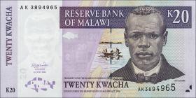 Malawi P.52a 20 Kwacha 2004 (1)