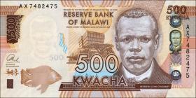 Malawi P.66a 500 Kwacha 2014 (1)