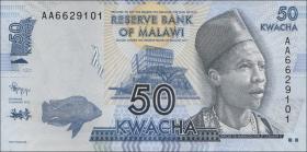 Malawi P.58a 50 Kwacha 1.1.2012 (1)