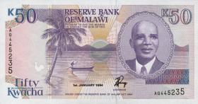 Malawi P.28b 50 Kwacha 1994 (1)