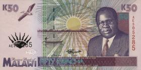 Malawi P.33 50 Kwacha 1995 (1)