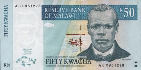 Malawi P.39 50 Kwacha 1997 (1)