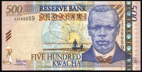 Malawi P.56a 500 Kwacha 2005 (1)