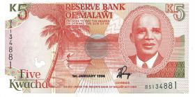 Malawi P.24b 5 Kwacha 1994 (1)
