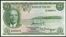 Malawi P.03A 1 Pound 1964 (1)