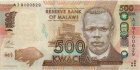 Malawi P.61b 500 Kwacha 2013 (1)