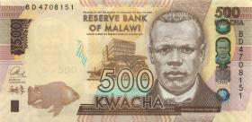 Malawi P.61c 500 Kwacha 2014 (1)