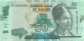 Malawi P.64e 50 Kwacha 2018 (1)