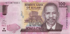 Malawi P.65c 100 Kwacha 2017 (1)