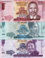 Malawi P.neu 20-100 Kwacha 2017 (1)