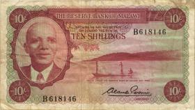 Malawi P.02 10 Shillings 1964 (3)