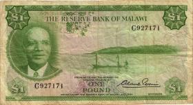 Malawi P.03 1 Pound 1964 (4)