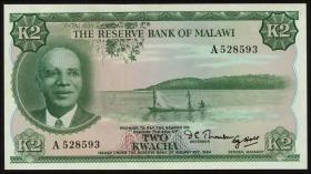 Malawi P.07 2 Kwacha (1971) (1/1-)