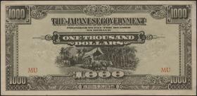 Malaya-Jap.Besetzung P.M 10b 1000 Dollars (1945) (1/1-)