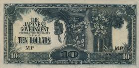 Malaya-Jap.Besetzung P.M 07b 10 Dollars (1942)  (1)