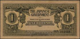 Malaya-Jap.Besetzung P.M 05a 1 Dollar (1942) (1-)