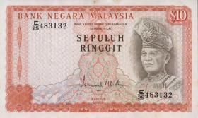 Malaysia P.15 10 Ringgit (1976-81) (1/1-)