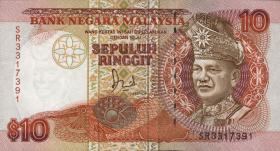 Malaysia P.29 10 Ringgit (1989) (2)