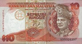 Malaysia P.29 10 Ringgit (1989) (1)