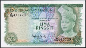 Malaysia P.08 5 Ringgit (1976) (1)