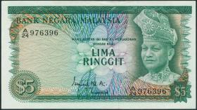 Malaysia P.08 5 Ringgit (1976) (2)